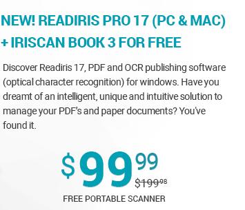 READIRIS PRO 17(PC & MAC)