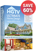NEW! HGTV® Home Design 6.0 Software