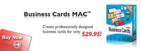 how to create business cards on mac