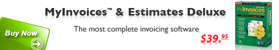 Buy MyInvoices & Estimates Deluxe